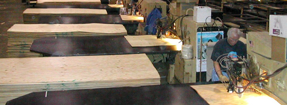 custom industrial wood panel products